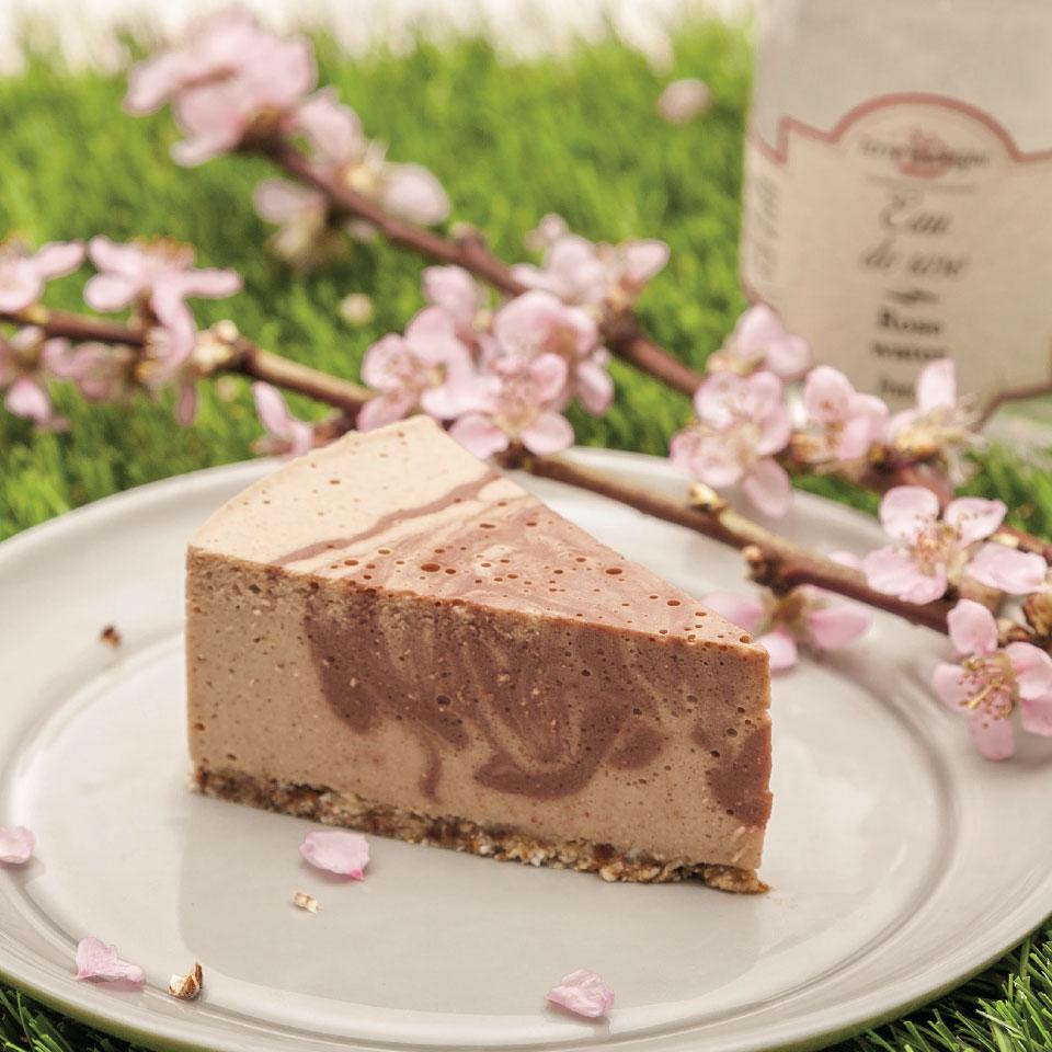rózsavizes torta