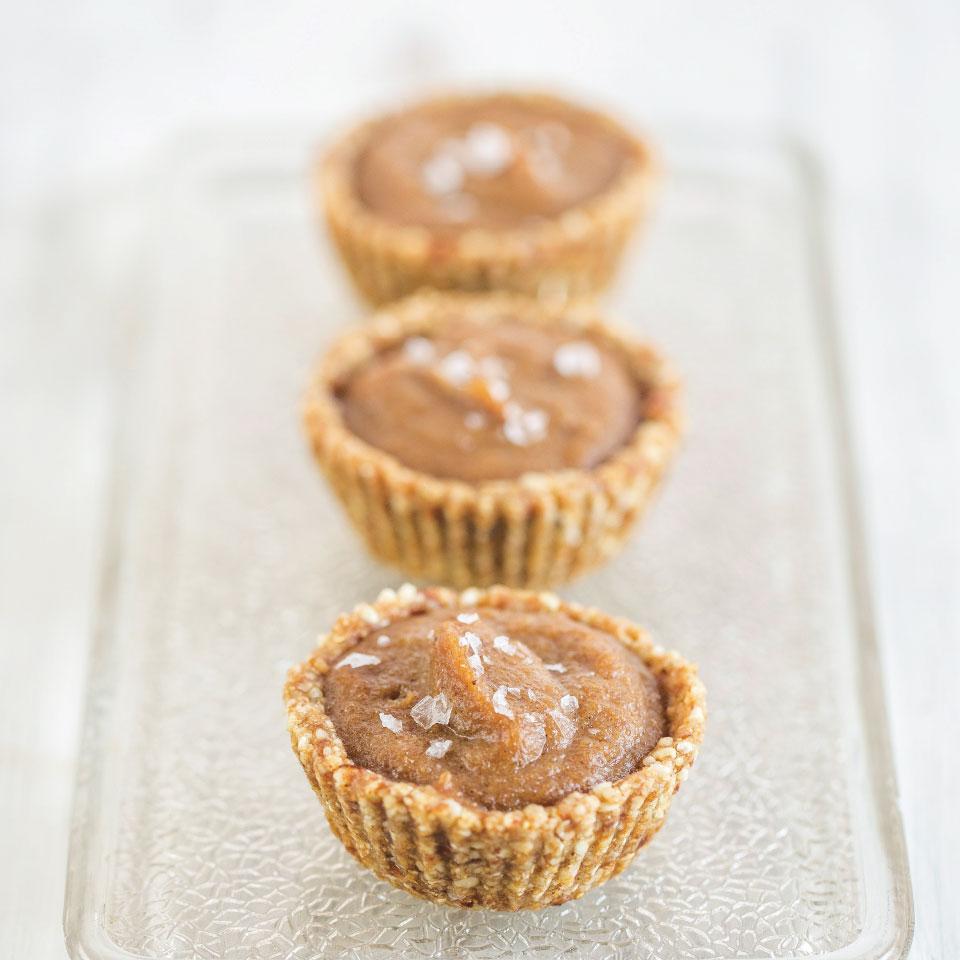 sós-karamellás cupcake