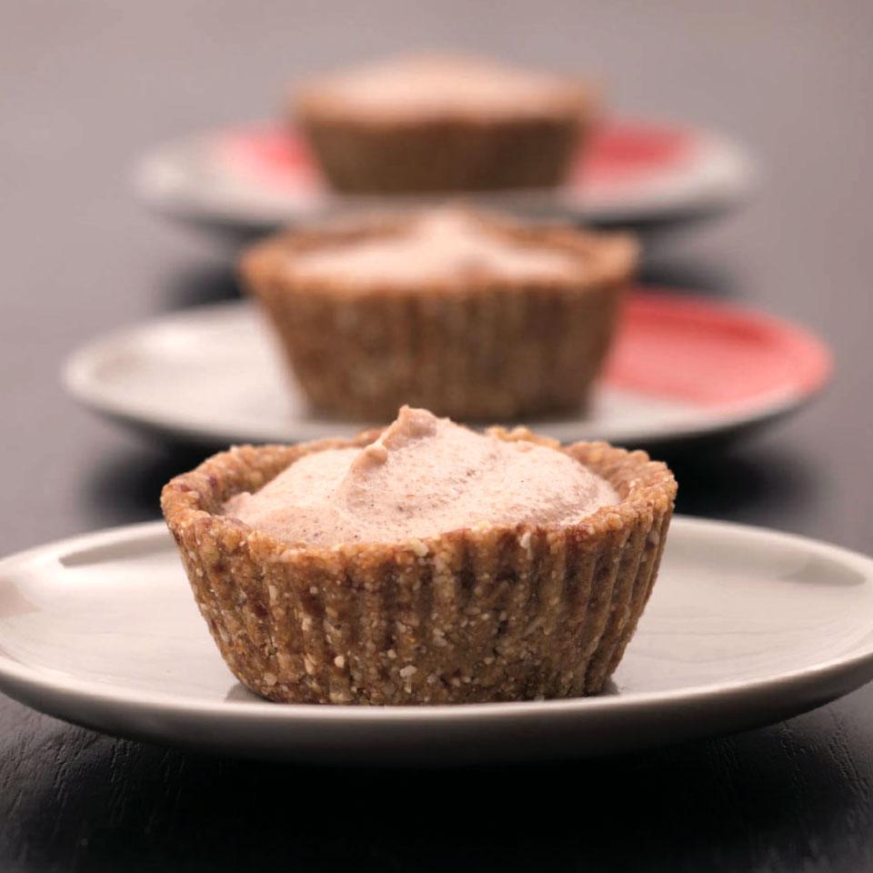 vanilliás-körtés cupcake